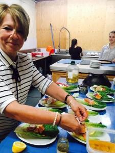 Helen en cuisine 2016